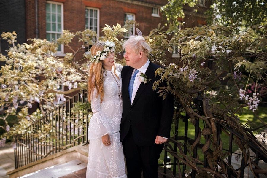 boris johnson married