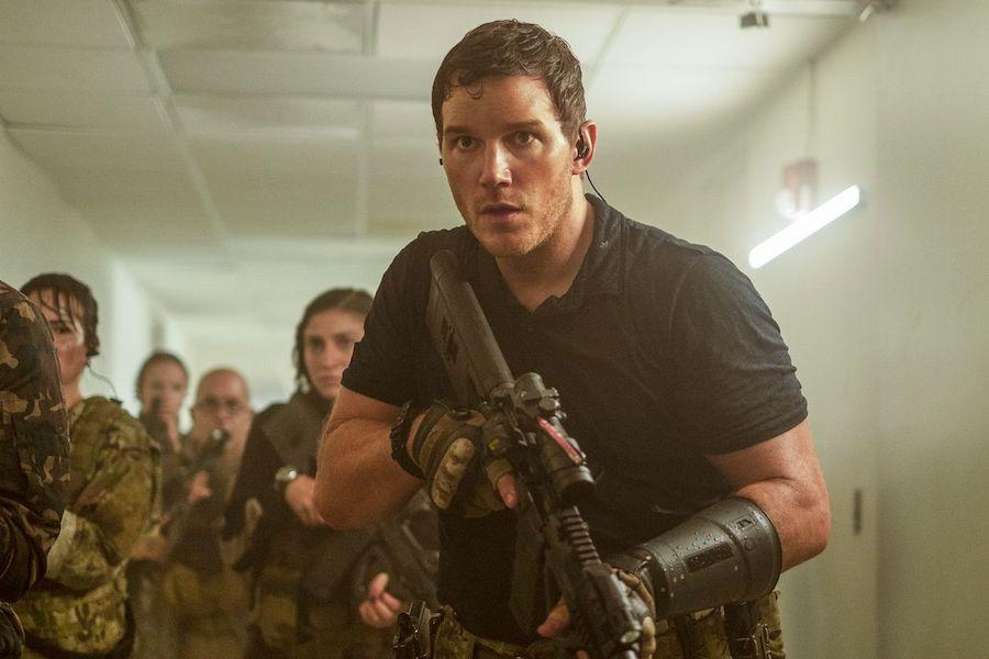 Chris Pratt stars in the 'The Tomorrow War' on Amazon Prime Video