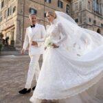 30-летняя племянница принцессы Дианы вышла замуж за 62-летнего миллионера